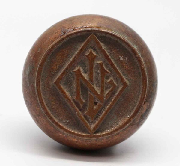 Door Knobs - Emblematic Lefcourt Newark Bronze Door Knob