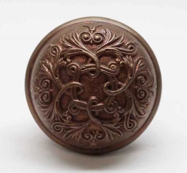 Door Knobs - Ornate Bronze Barrows Baltic 4 Fold Door Knob