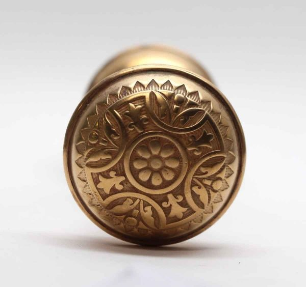 Door Knobs - Polished Bronze Sargent Vernacular Door Knob Set