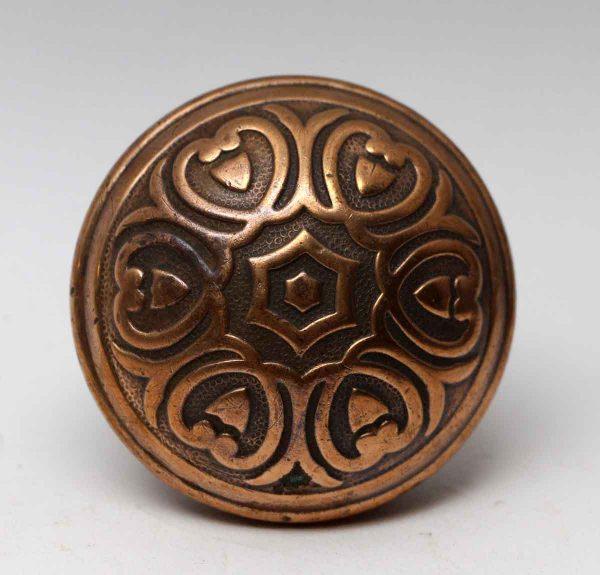 Door Knobs - Polished Bronze Yale & Towne Florian Five Fold Door Knob