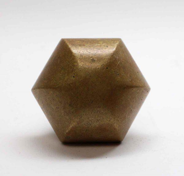 Door Knobs - Solid Bronze Hexagon Door Knob