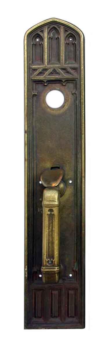 Door Pulls - Exterior Bronze Gothic Door Pull