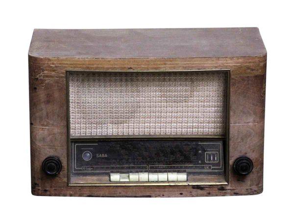 Electronics - Vintage Saba German Radio