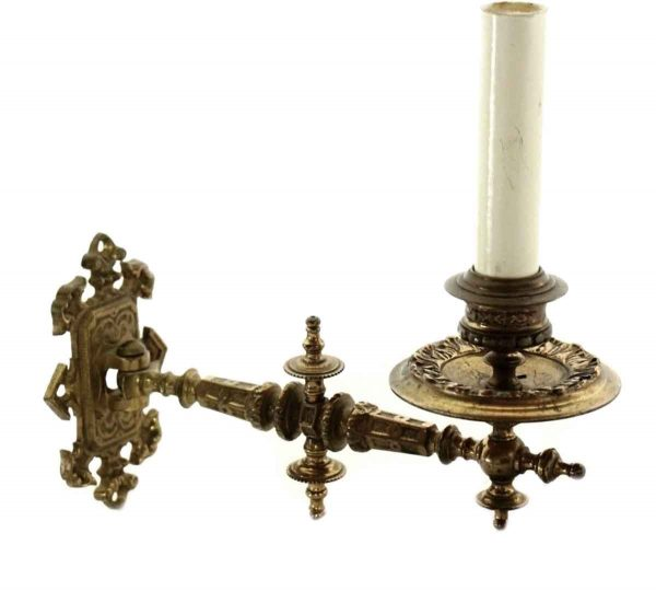Sconces & Wall Lighting - Gold Over Bronze French Piano Sconce