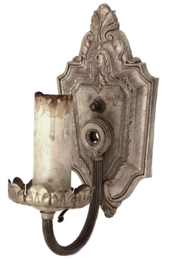 Sconces & Wall Lighting - Single Arm Victorian Lightweight Sconce