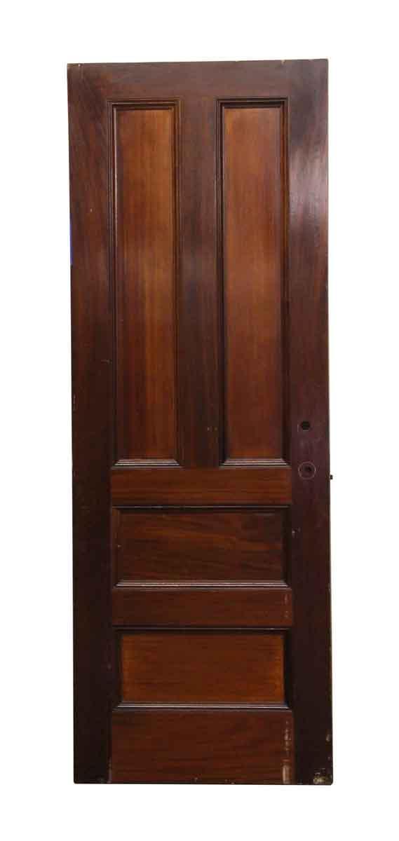 Standard Doors - Four Panel Dark Wooden Door