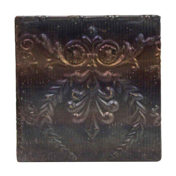 Tin Panels - 2 Fold Metallic Antique Tin Panel