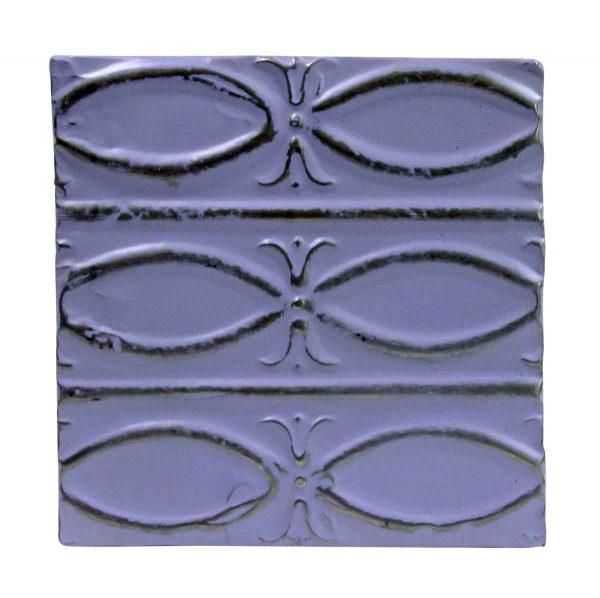 Tin Panels - Purple Fish Pattern Tin Panel