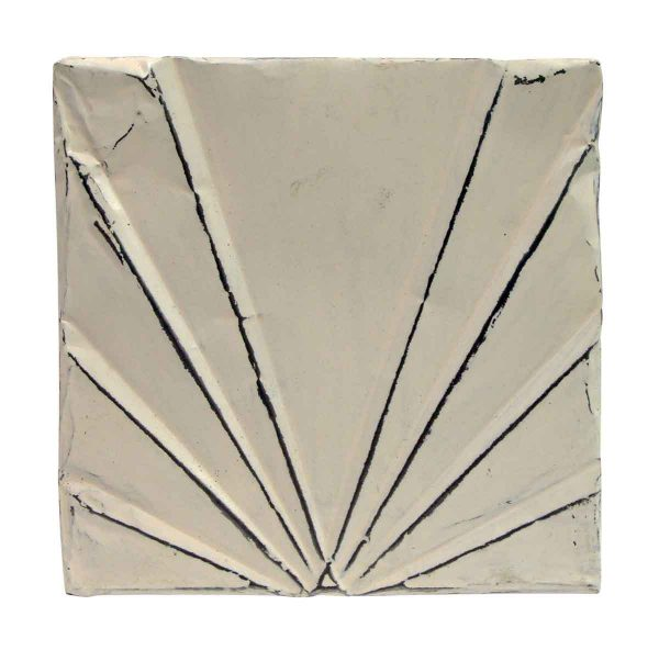 Tin Panels - White Deco Antique Tin Panel