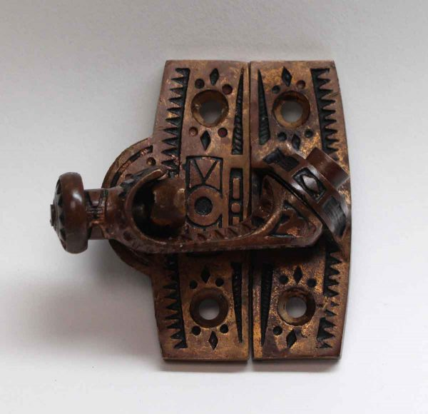 Window Hardware - Antique Bronze Window Lock