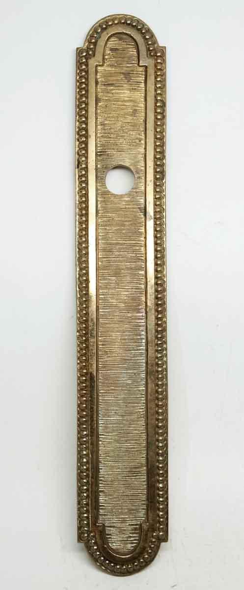 Back Plates - Gilded Bronze Beaded Back Plate
