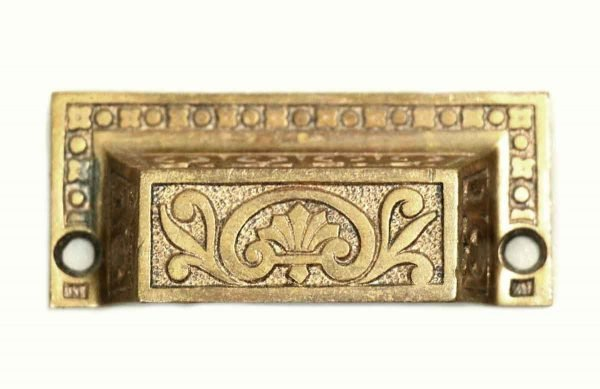 Cabinet & Furniture Pulls - Ornate Bronze Drawer Pull