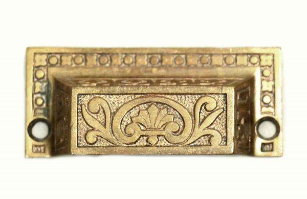 Cabinet & Furniture Pulls - Ornate Bronze Drawer Pull