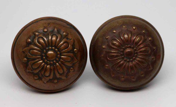 Door Knob Sets - Antique Bronze Sargent RD Door Knob Set