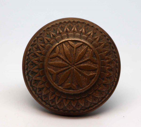 Door Knobs - Antique Vernacular Field Bronze Entry Door Knob