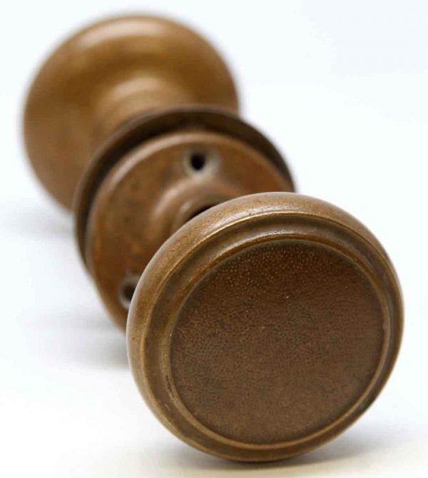 Door Knobs - Bronze Concentric Circle Door Knob Set