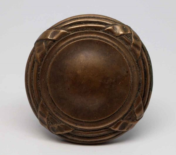 Door Knobs - Cast Bronze 4 Fold Concentric Entry Door Knob