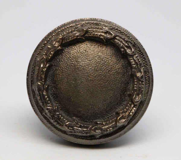 Door Knobs - Cast Bronze Nickel Plated Concentric Door Knob