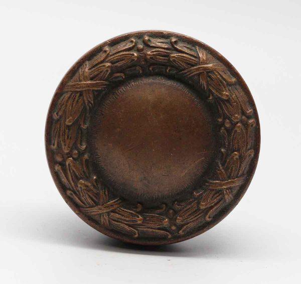 Door Knobs - Concentric Bronze Niles Chicago Door Knob