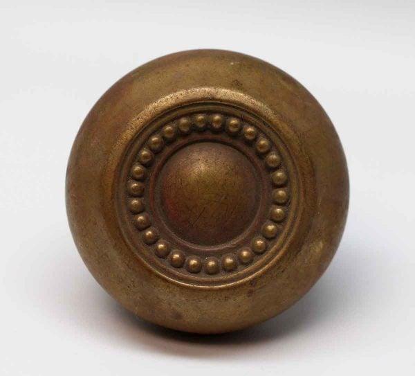 Door Knobs - Hollow Brass Russell & Erwin Gem Concentric Door Knob