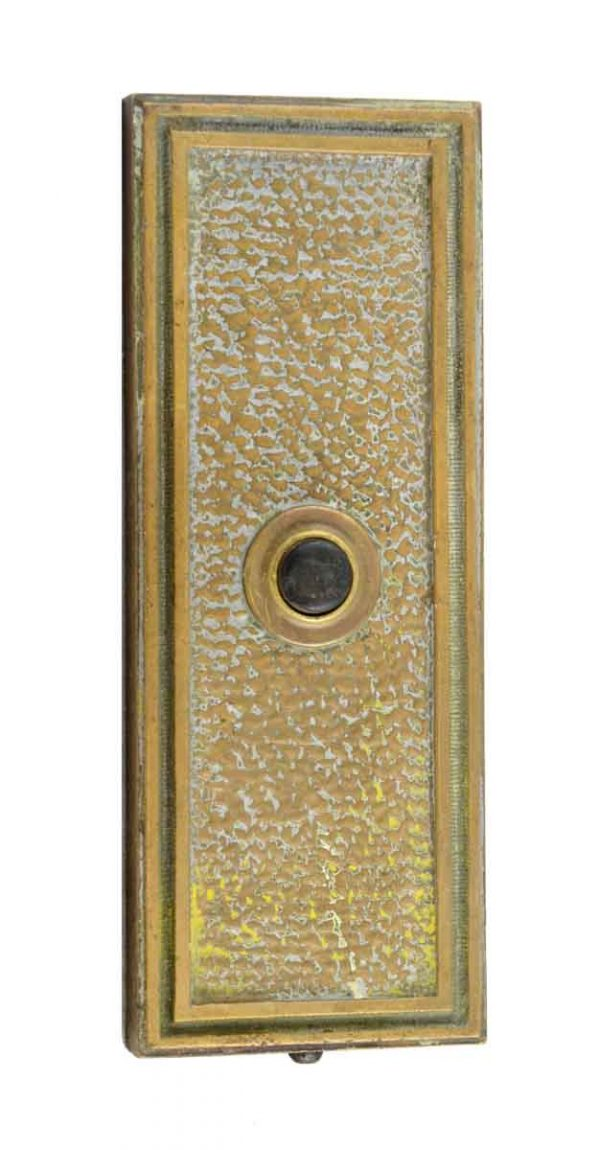 Elevator Hardware - Antique Bronze Elevator Button Plate