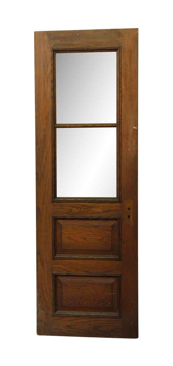 Entry Doors - Four Panel Wood & Glass Entry Door