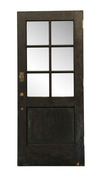 Divided Lite Wooden Entry Door