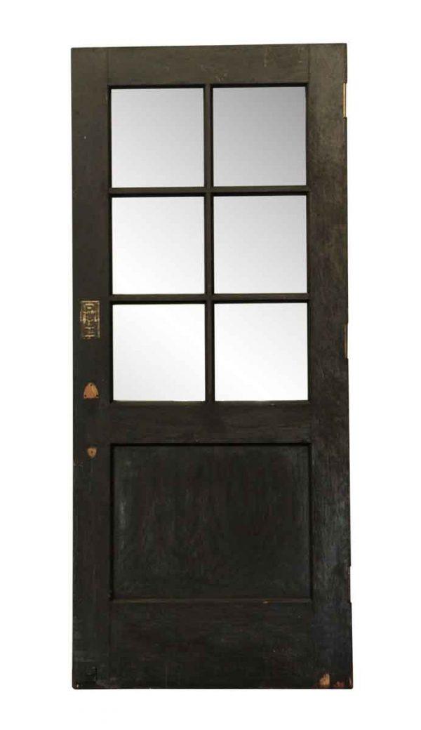 Entry Doors - Seven Panel Wooden Entry Door