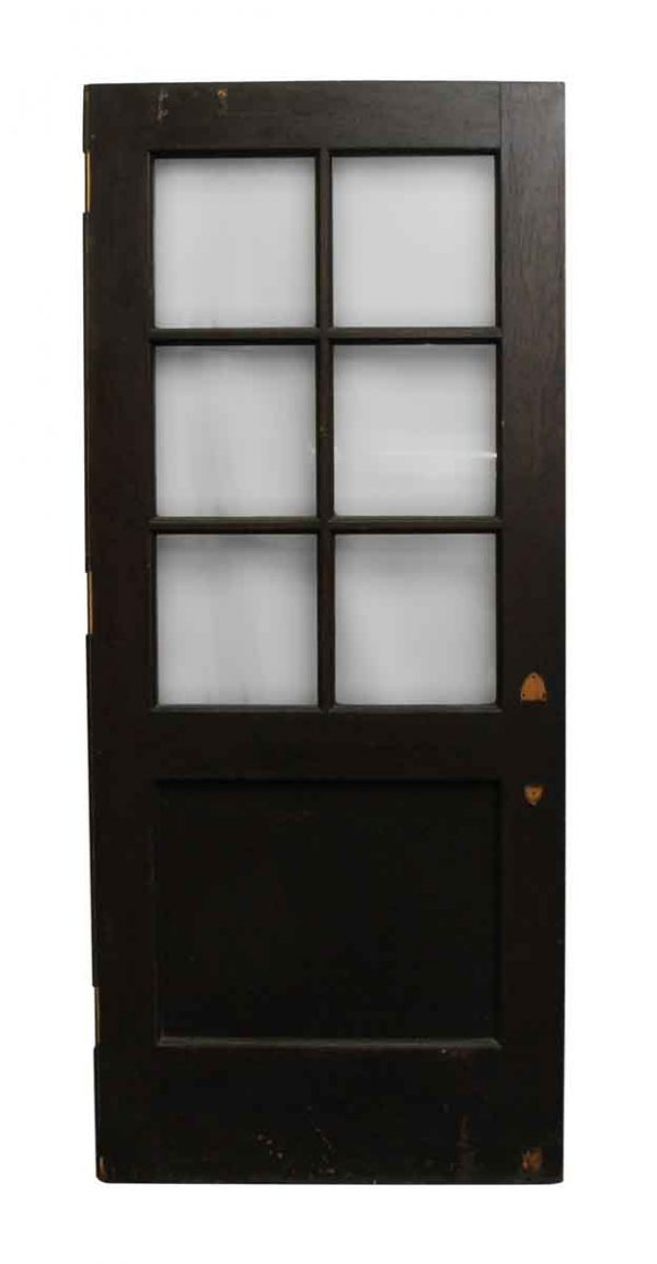 Entry Doors - Wooden Entry Door with Seven Panels