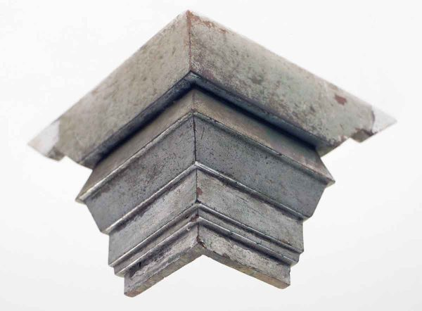 Exterior Materials - Nickel Over Brass Corner Bracket