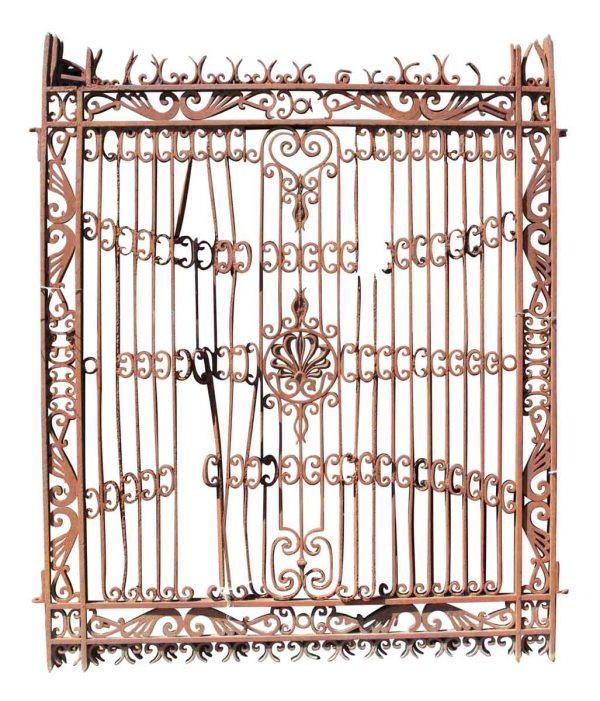 Gates - Rococo Wrought Iron Driveway Gates