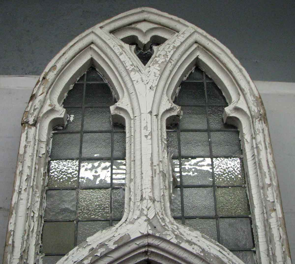Gothic Church Window With Leaded Glass Olde Good Things