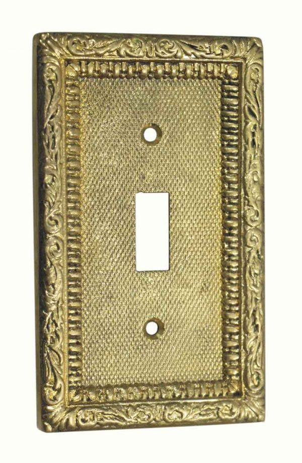 Lighting & Electrical Hardware - Ornate Toggle Light Switch Cover