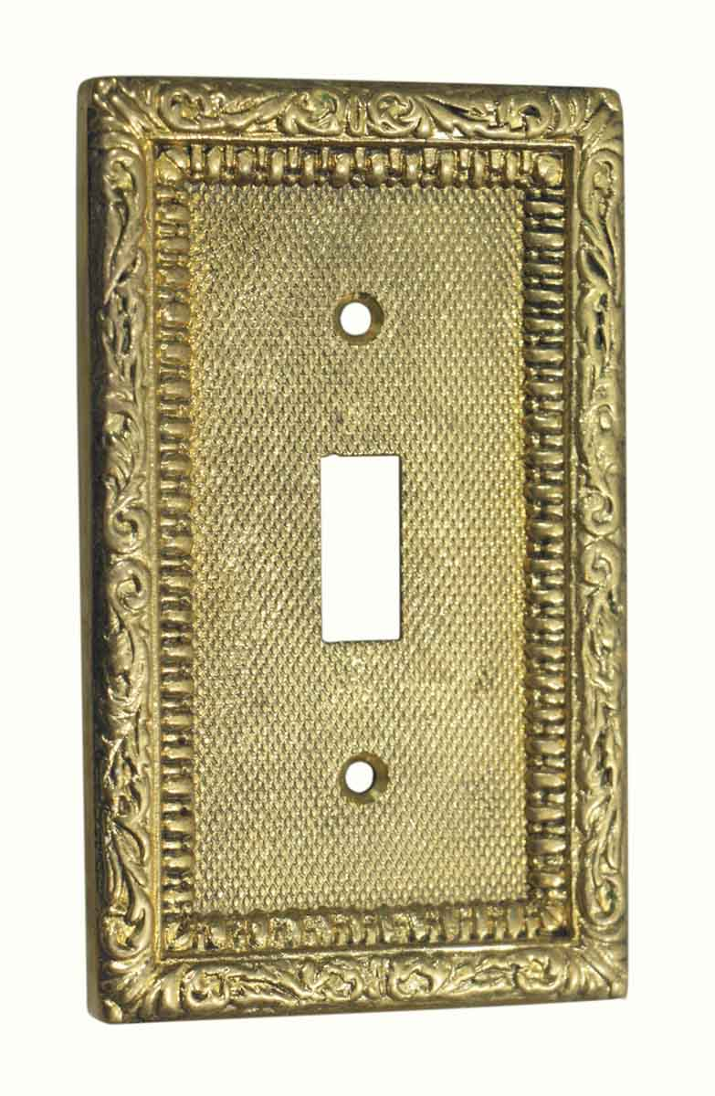 Lighting Electrical Hardware Ornate Toggle Light Switch Cover