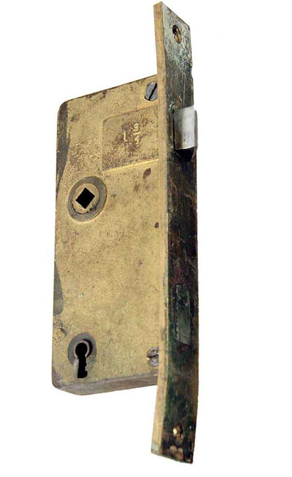 Pocket Door Hardware - French Door Cast Bronze Mortise Lock