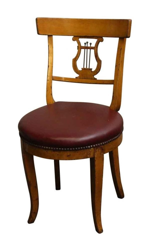 Seating - Vintage Harp Wooden Chair