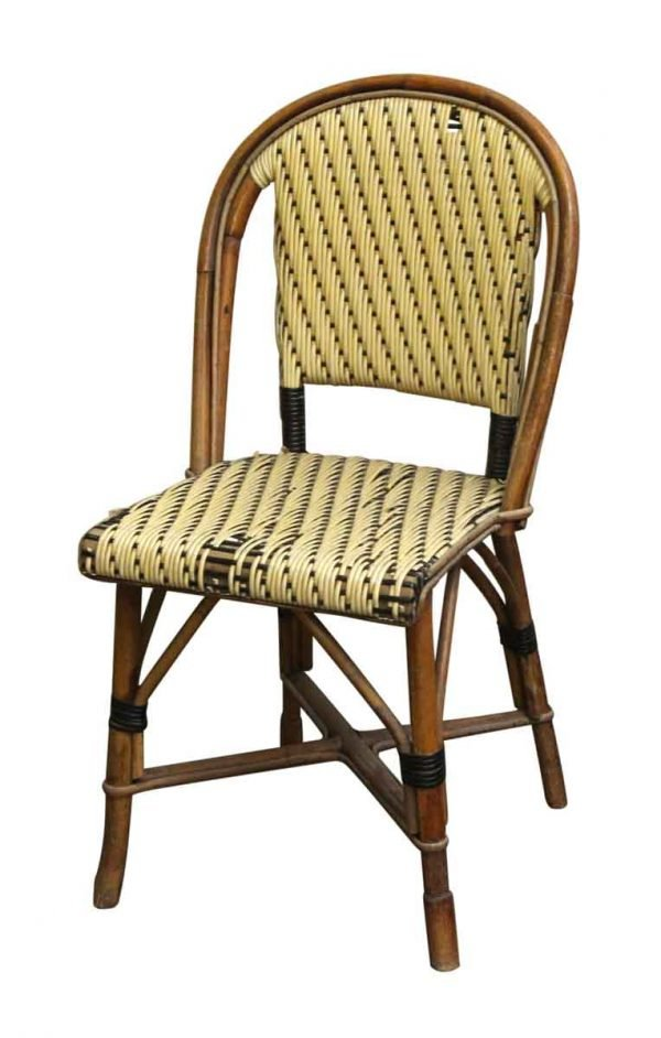 Seating - Wicker & Wood Frame Chair