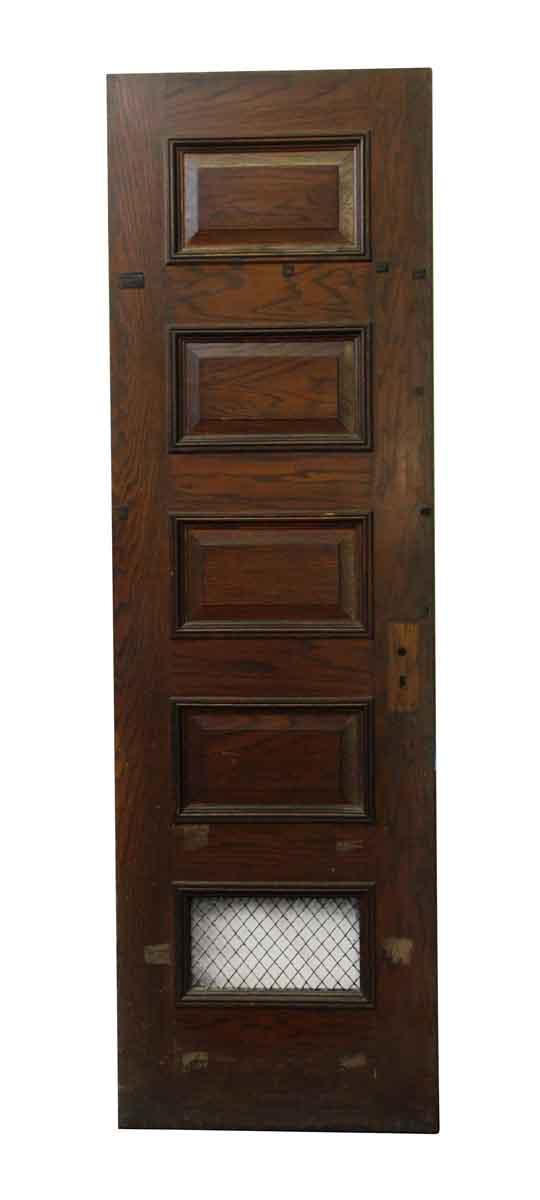 Specialty Doors - Five Panel Door with Mesh Panel