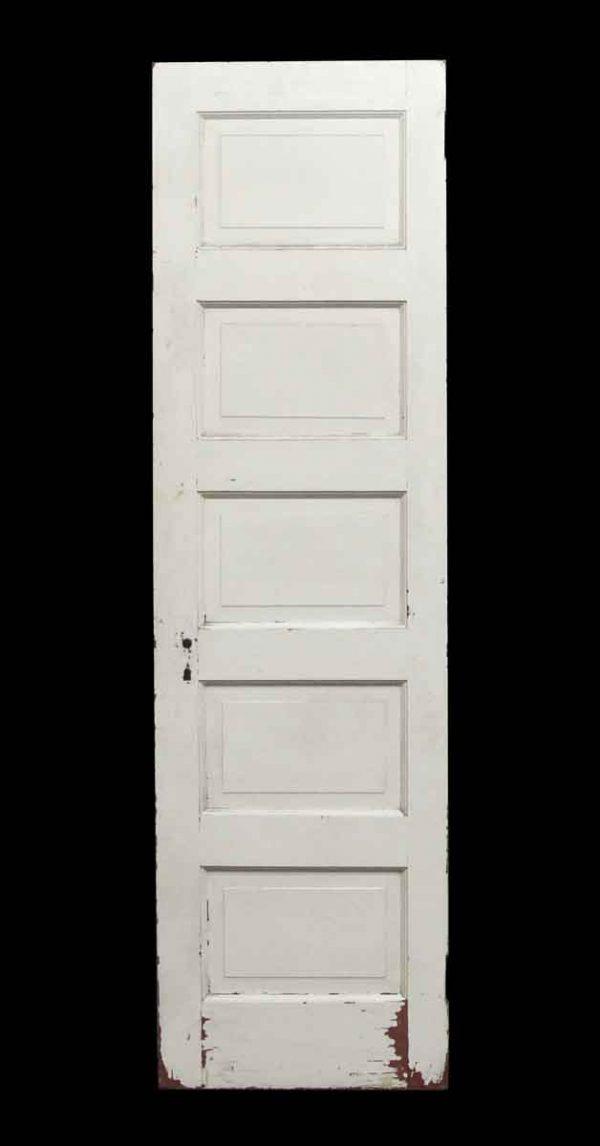 Standard Doors - 5 Panel Narrow White Door
