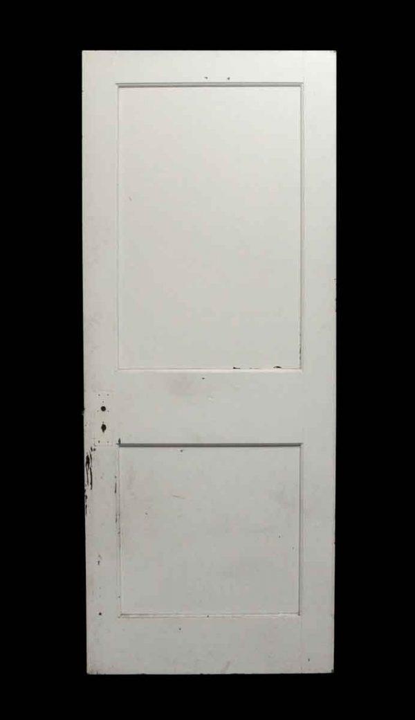 Standard Doors - Antique Double Panel Wood Door
