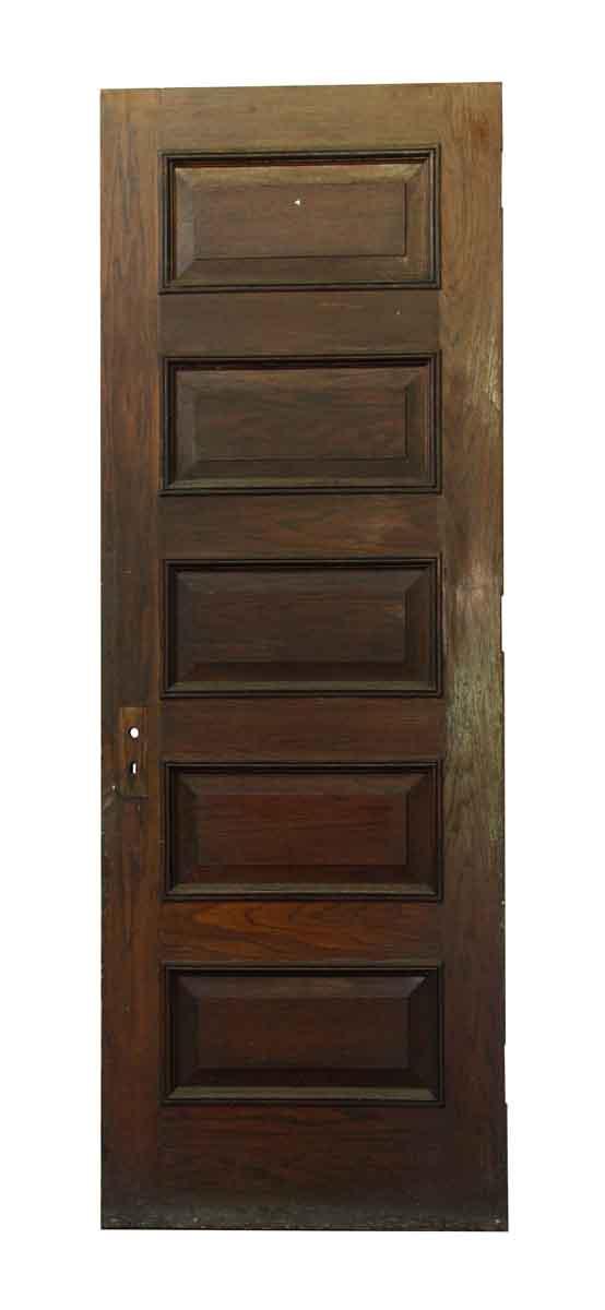 Standard Doors - Antique Five Panel Wooden Door