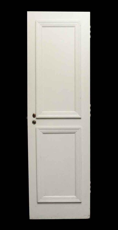 Standard Doors - Double Panel White Wood Door