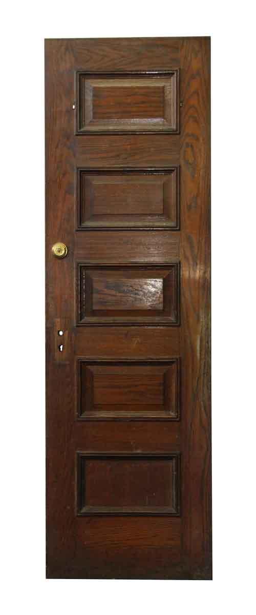 Standard Doors - Five Panel Wooden Antique Door