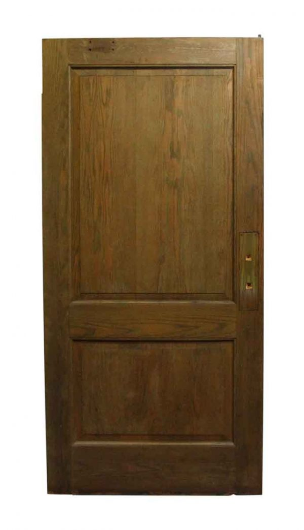 Standard Doors - Two Panel Wide Wooden Door