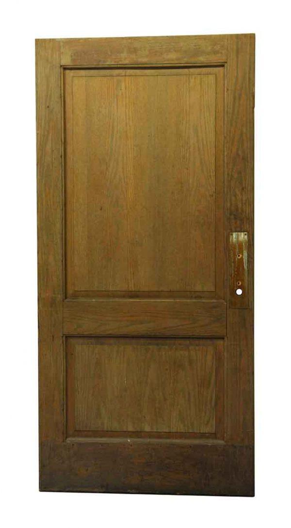 Standard Doors - Wide Double Panel Wooden Door