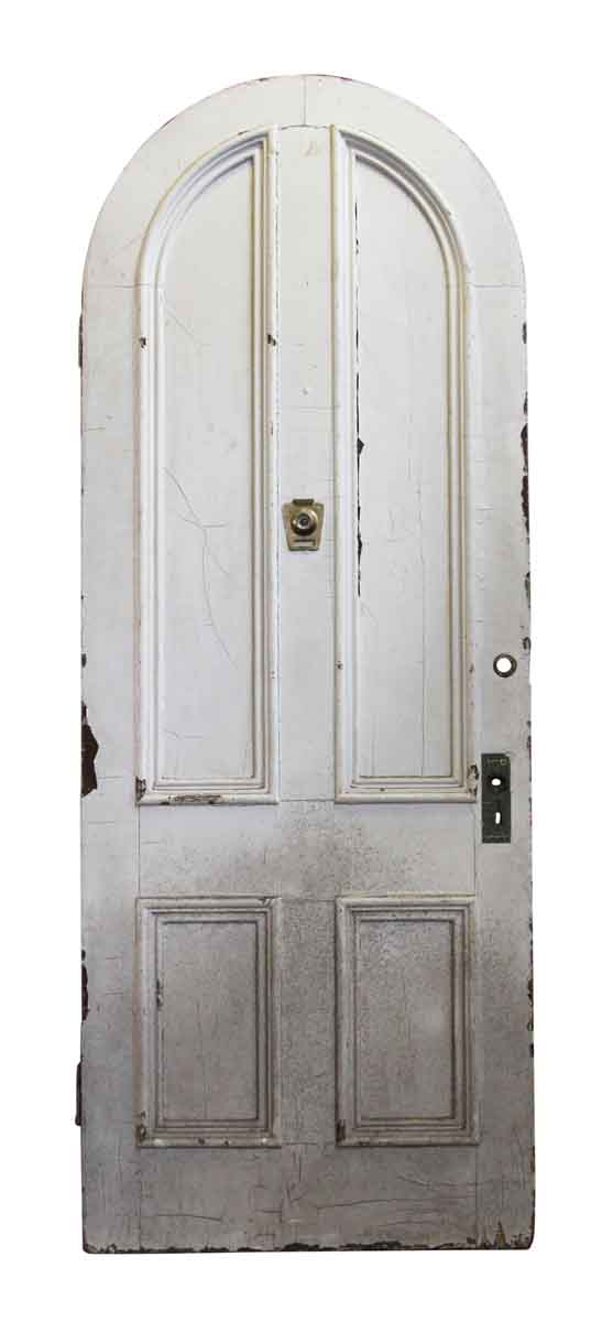 Arched Doors - Arched White Wooden Doors
