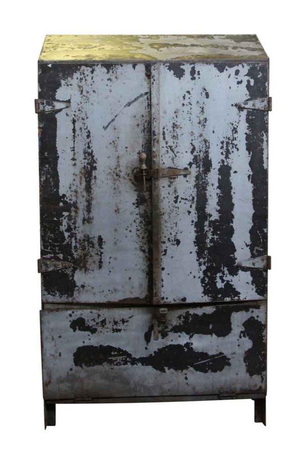 Cabinets - Vintage Industrial Steel Cabinet