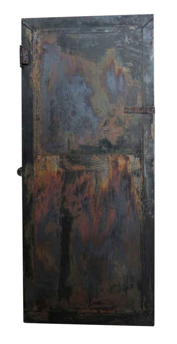 Commercial Doors - Distressed Metal Boiler Room Door