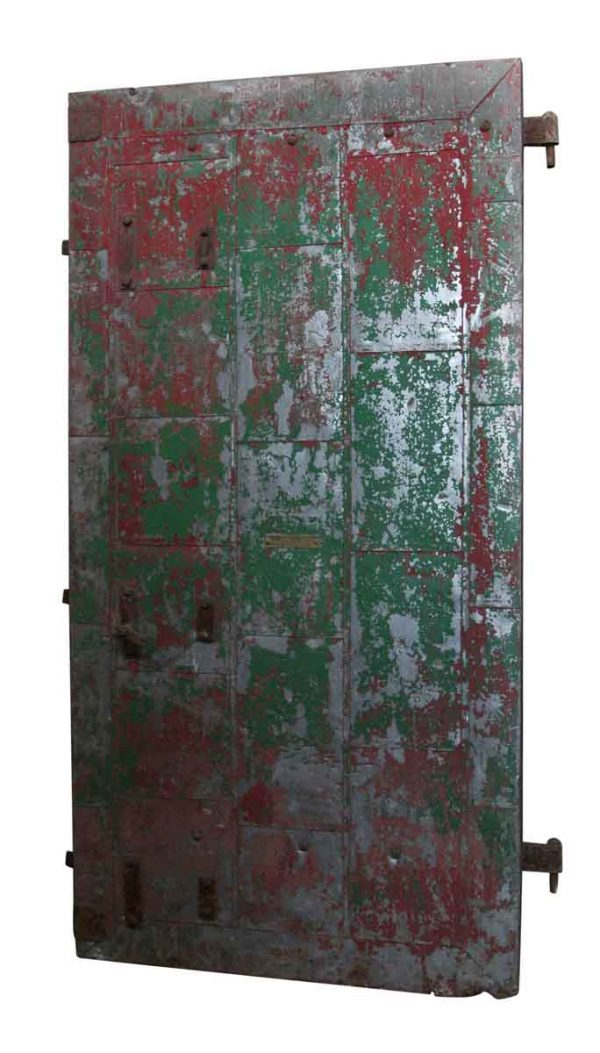 Commercial Doors - Distressed Vintage Fire Door