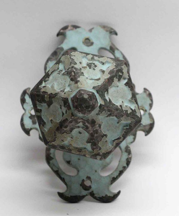 Door Knobs - Arts & Crafts Hexagon Bronze Door Knob Pull